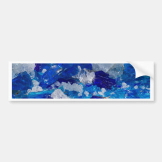 artistic creations with glass bumper sticker