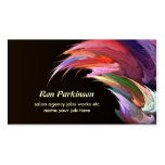 artistic creative business card standard business cards
