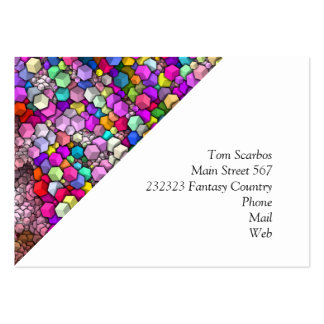 artistic cubes 3 (I) Large Business Card