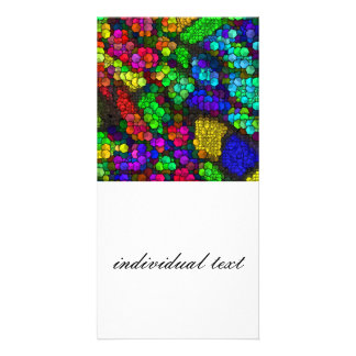 artistic cubes 4 vivid (I) Card