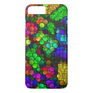 artistic cubes 4 vivid (I) iPhone 7 Plus Case