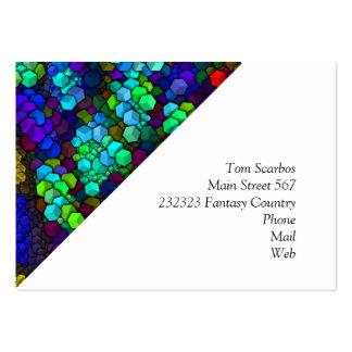 artistic cubes 4 vivid (I) Large Business Card