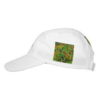 artistic cubes green (I) Headsweats Hat