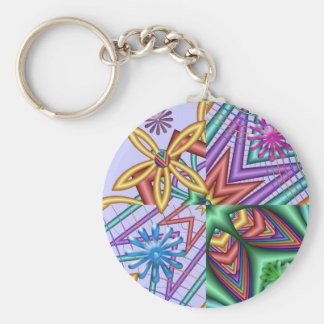 Artistic cute keychain Modern Summertime