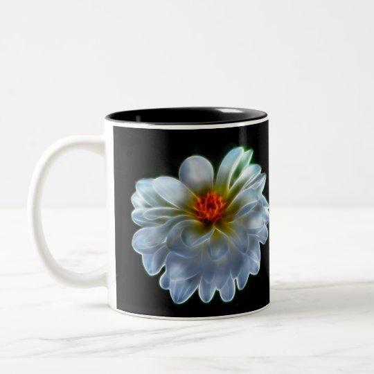 Artistic dahlia and meaning Two-Tone coffee mug