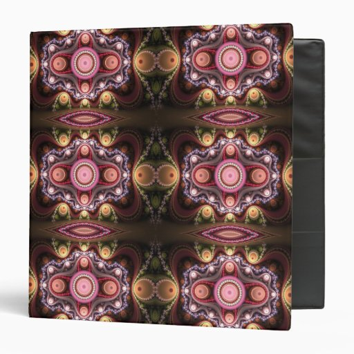 Artistic decorative binder