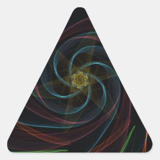 Artistic Dimensions Triangle Sticker