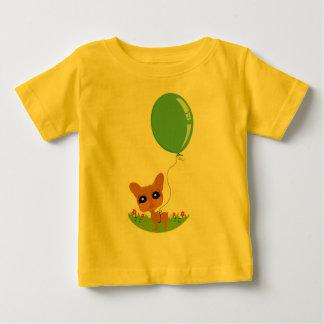 Artistic Dog Gone Fun Illustration Baby T-Shirt