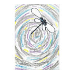 Artistic Dragonfly Canvas Print