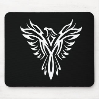 Artistic Eagle Silhouette Mouse Pads