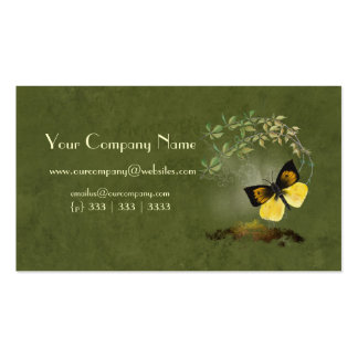Artistic, Elegant- Painted Butterfly- Business Car Business Card Templates