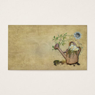 Artistic, Elegant- Water Can- Garden Things- 3 Business Card