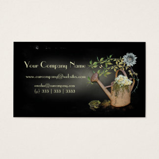 Artistic, Elegant- Water Can- Garden Things- 4 Business Card