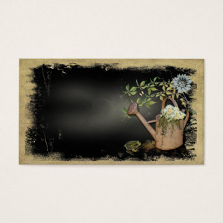 Artistic, Elegant- Water Can- Garden Things- Blank Business Card