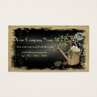Artistic, Elegant- Water Can- Garden Things- Busin Business Card