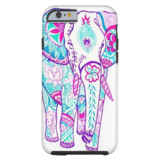 Artistic Elephant iPhone 6 Tough case