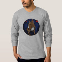 Artistic English Bull Terrier Illustrated T-Shirt