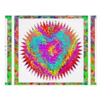 ARTISTIC Expression : MATTER OF HEART Postcard