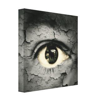 Artistic eye canvas print