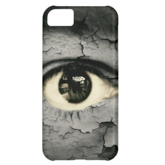 Artistic eye case for iPhone 5C