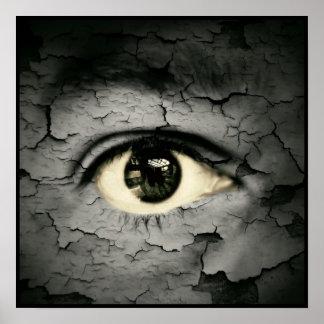 Artistic eye poster