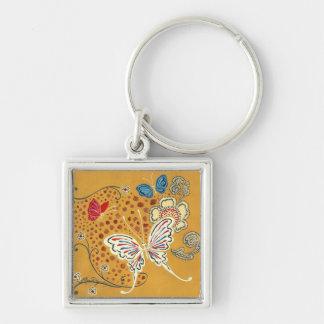Artistic Fantasy Butterflies Keychain