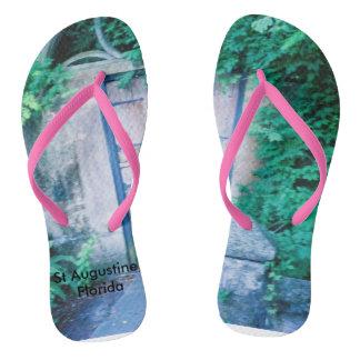 Artistic flip flops, image from a trip to Florida Flip Flops