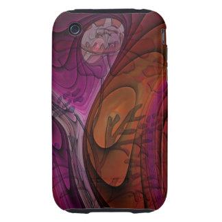 Artistic floral iPhone 3G/3GS Case-Mate case Tough iPhone 3 Cases