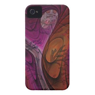 Artistic floral iPhone 4 case