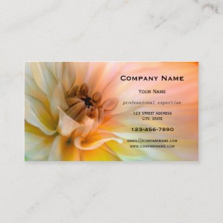Artistic Flower Business Card