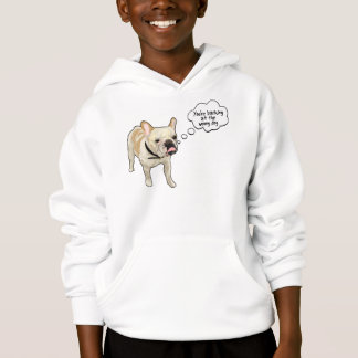 Artistic French Bulldog Projekt Dog Design Hoodie