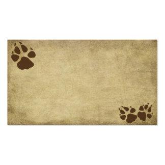 Artistic & Fun- Doggy Prints-  Business Card