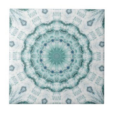 Beach Themed Artistic Geometric Sea Star Ceramic Bathroom Tile