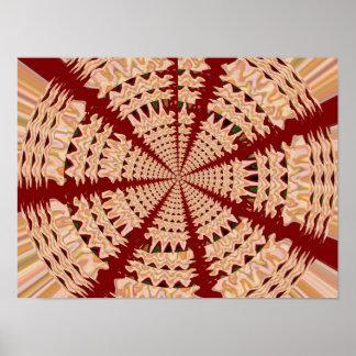 Artistic Gifts CHAKRA Healing Mandala Circle Round Poster