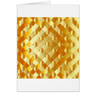 Artistic gold grid card