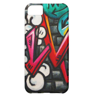Artistic Graffiti Products Case For iPhone 5C