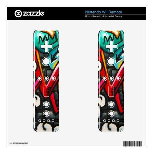 Artistic Graffiti Products Nintendo Wii Remote Skins