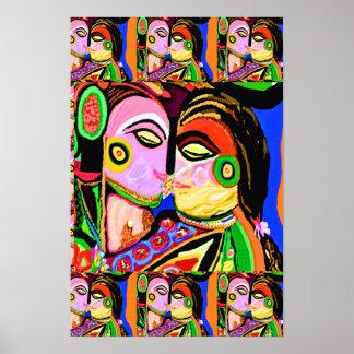 Artistic graphic n digital designs by Navin joshi Poster