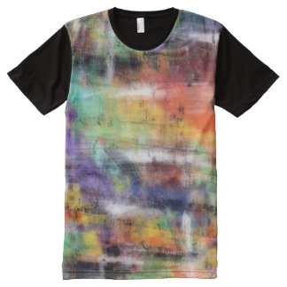 Artistic Grunge All-Over-Print T-Shirt