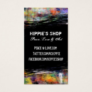 Artistic Grunge Business Card