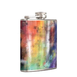 Artistic Grunge Flask