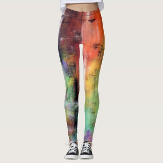 Artistic Grunge Leggings