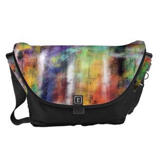 Artistic Grunge Messenger Bag