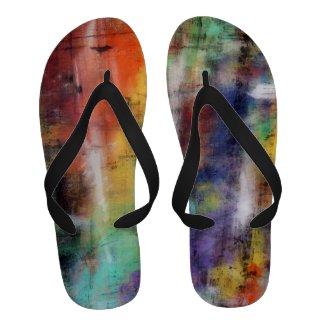 Artistic Grunge Sandals