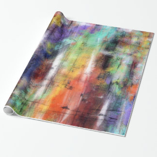 Artistic Grunge Wrapping Paper