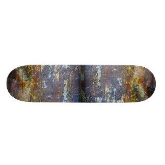 Artistic Grungy Wall Skateboard