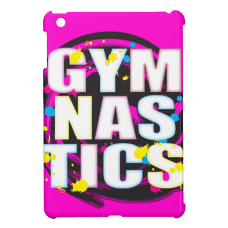 Artistic Gymnastics Paint Pink iPad Mini Cases