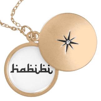 Artistic Habibi Locket Necklace