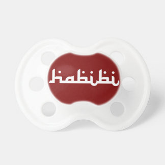 Artistic Habibi Baby Pacifiers