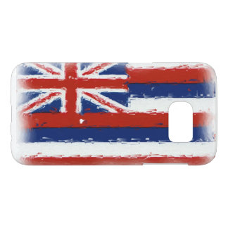 Artistic Hawaii flag Samsung Galaxy S7 phone case